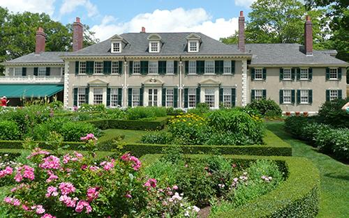 Hildene Home and garden