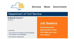 page image of N.Y. Department of Civil Service