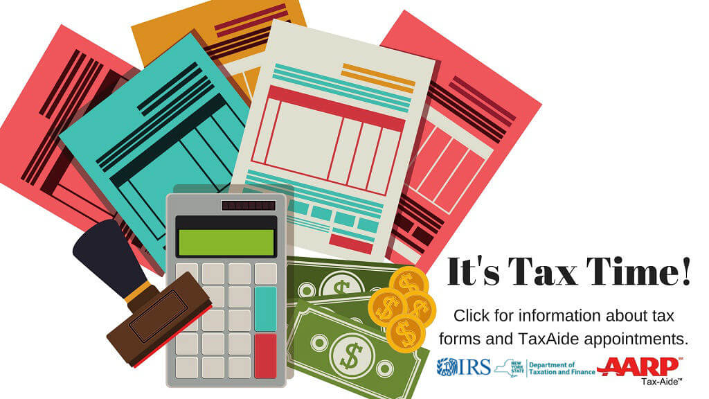 Updated information for tax season