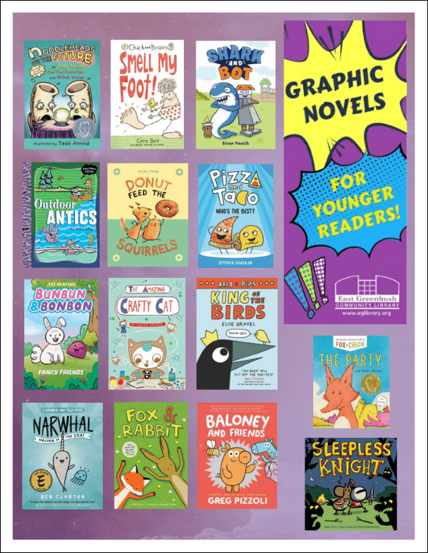 Graphic Novels for Younger Readers