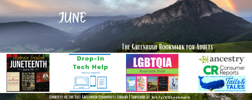 Greenbush Bookmark for Adults June 2021 issue