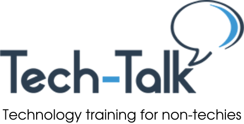 Tech-Talk: Technology training for non-techies