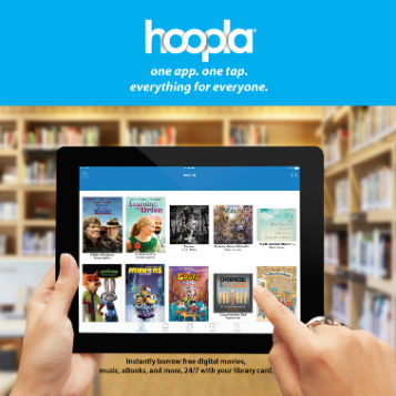 Hoopla - One app, one tap to stream media.