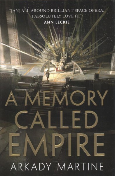 A Memory Called Empire book cover