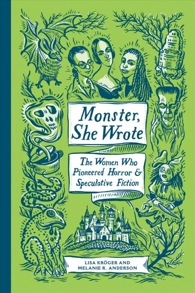 Monster, She Wrote book cover