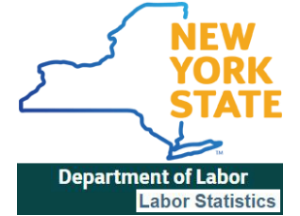 NYS Department of Labor Statistics logo