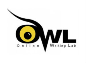 OWL writing lab logo