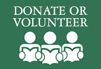Donate or Volunteer. Support Us.