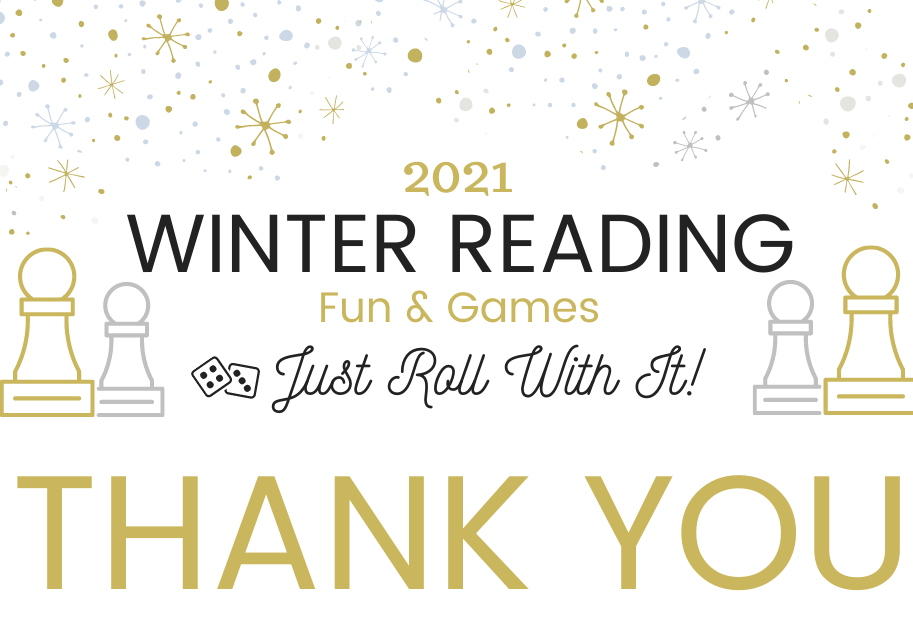 Winter Reading logo with